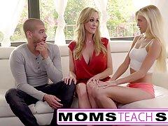 ¡Enseña a Sarah y Maggie a follar al mal estudiante Joseph en un trío! videos pornos gratis caseros reales
